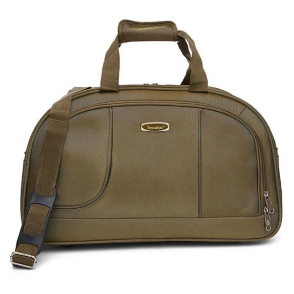 Senator 7085D20BEG Delux Duffel Bag Beige 20inch
