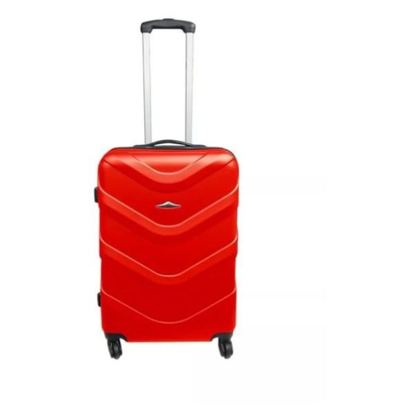 Highflyer Vice Series Trolley Luggage Bag Red 3pc Set TH-VICE-3PC