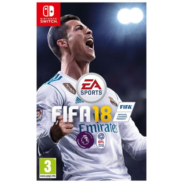 Nintendo Switch FIFA 18 Standard Game