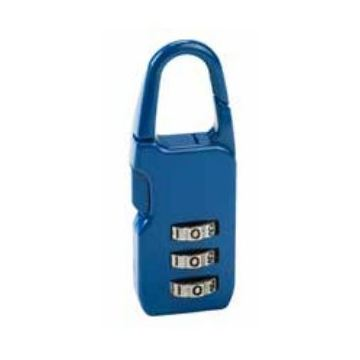 Princess Traveller RFTO Combination Lock Blue