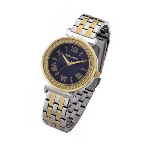 Police P 14880MSTG-D03M Sterling Ladies Watch