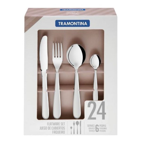 Tramontina Cutlery 24pc Set 66903005