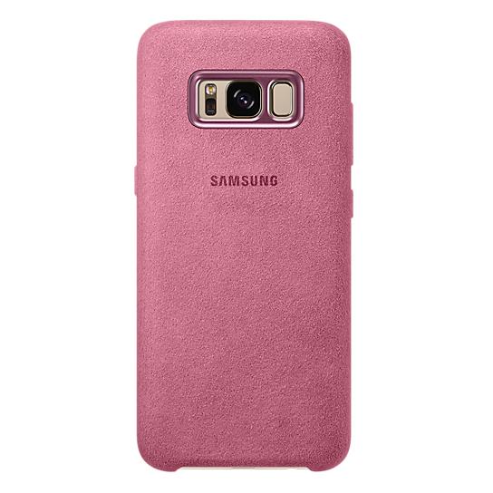 Samsung Alcantara Case Pink For Galaxy S8 EF-XG950APEGWW