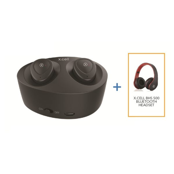 Buy Xcell Soul5bnd Wireless In Ear Headset Bh500 Wireless Headset Price Specifications Features Sharaf Dg