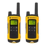 Motorola TLKRT80 P14MAB03A1AX Extreme Walkie Talkie Yellow Twin Pack & Charger