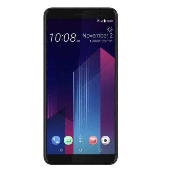 HTC U11 Plus 4G Dual Sim Smartphone 128GB Translucent Black
