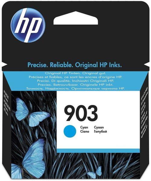 HP Cyan Original Ink Cartridge 903 T6L87AE