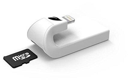 Leef LIACMWK000E1 IAccess IOS Micro SD Card Reader