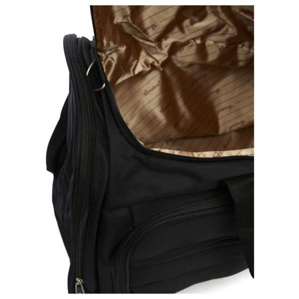 Senator 2003D24BLK Fancy Duffel Bag Black 24inch