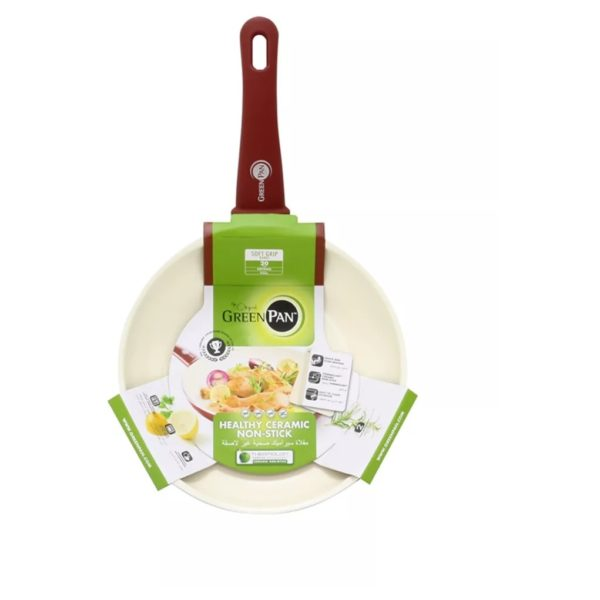 Greenpan Soft Grip Aluminum Ceramic Non Stick Fry Pan 30cm GP1184