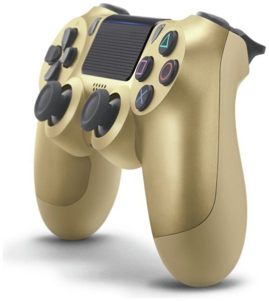 Sony PS4 Dual Shock 4 V2 Wireless Controller Gold