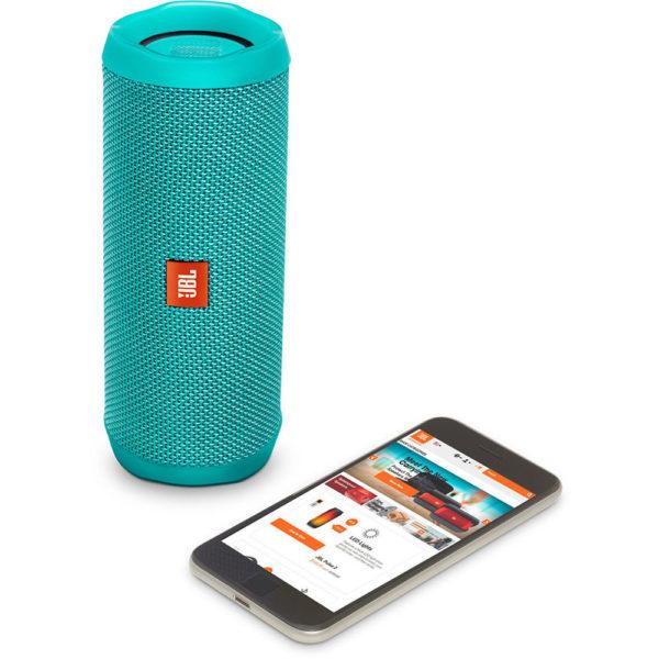 JBL FLIP4 Waterproof Portable Bluetooth Speaker Teal