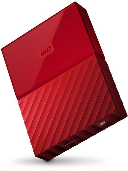 Western Digital WDBYFT0030BRD My Passport Hard Drive 3TB Red