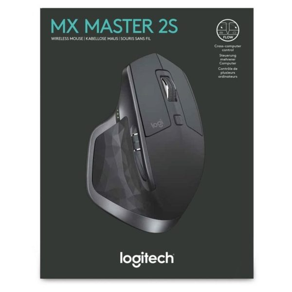 Logitech MX Master 2S Wireless Mouse 2 4GHZ Graphite 910005139