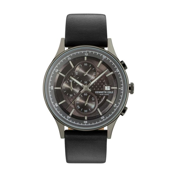 Kenneth Cole New York Watch For Men with Leather Strap