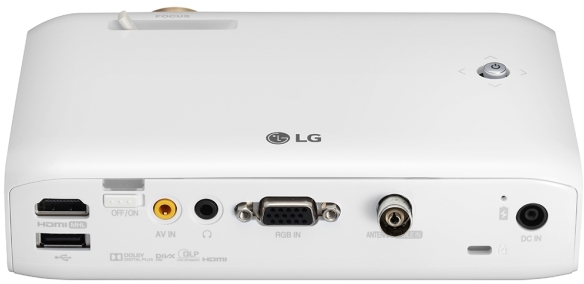 LG PH550 Minibeam LED Projector
