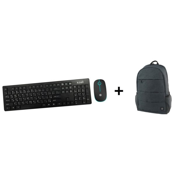 buy xcell xd800 wireless desktop keyboard mouse bp100 backpack price specifications. Black Bedroom Furniture Sets. Home Design Ideas