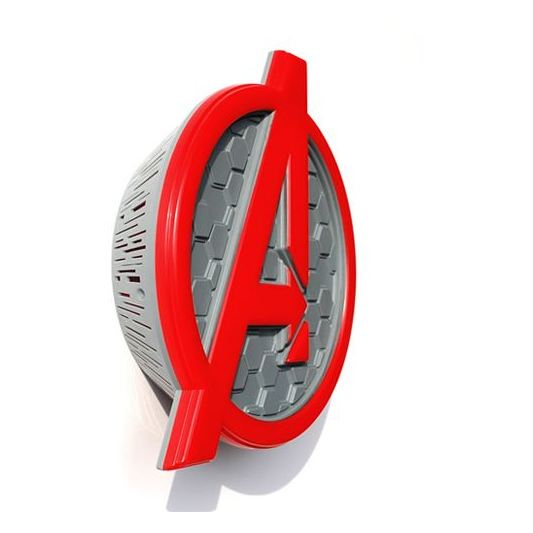 Buy 3dlightfx Avengers Logo 3d Decor Wall Light Price