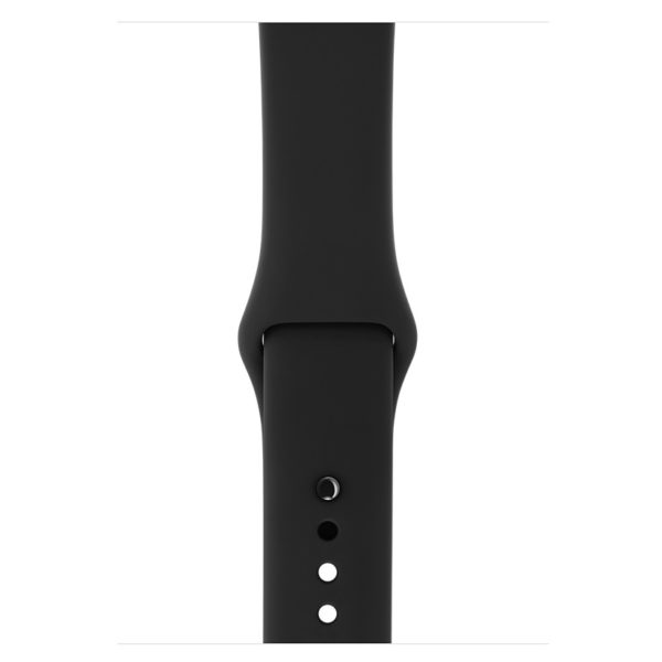 save off 9ad65 914b3 Buy Apple Watch Series 3 GPS + Cellular 42mm Space Black Stainless ...