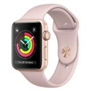 Apple Watch Series 3 GPS - 42mm Gold Aluminium Case with Pink Sand Sport Band