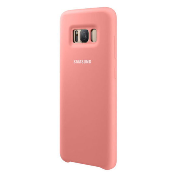 Samsung Silicon Back Case Pink For Galaxy S8+ EF-PG955TPEGWW