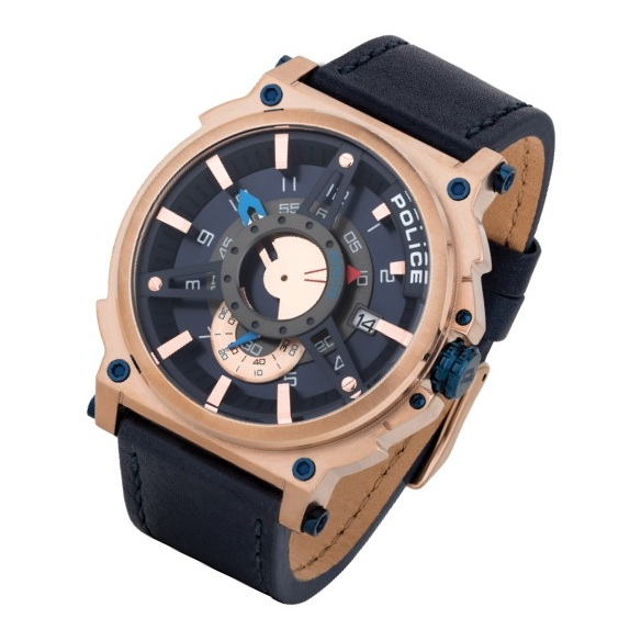 Police P 15048JSR-03 Compass Mens Watch
