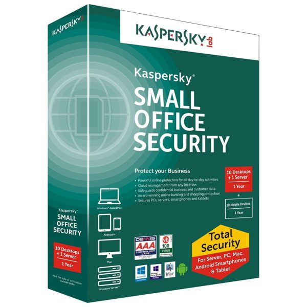 Image result for kaspersky small office security 10 user