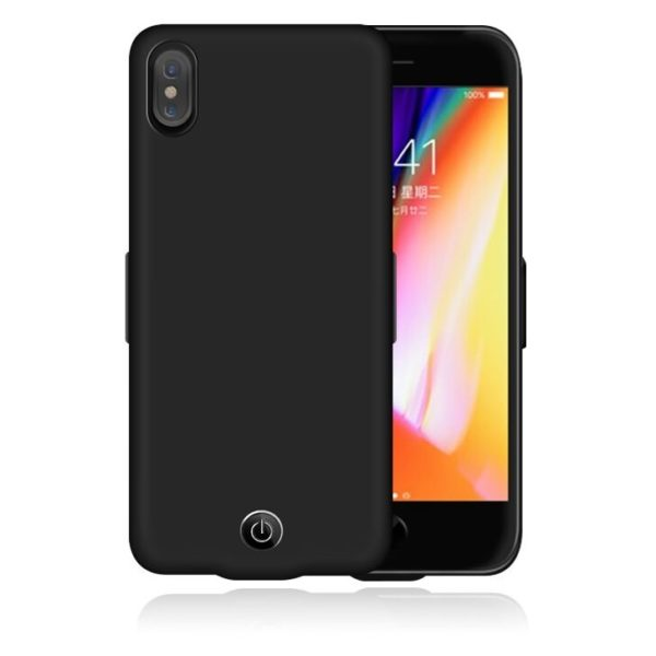 Eklasse Battery Case 5500mAh Black For iPhone X - EKBC03WT