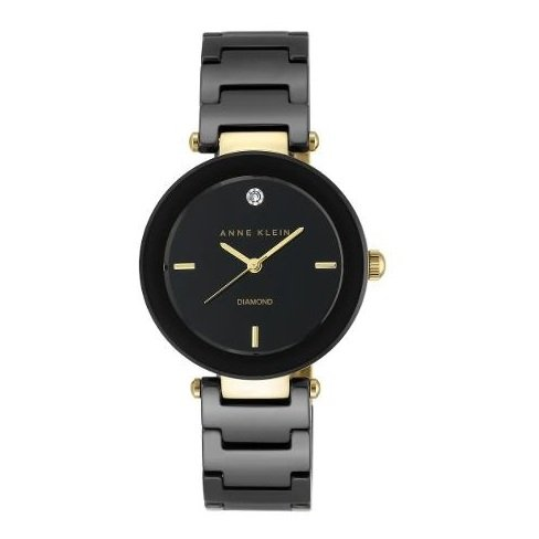 Anne Klein AK1018BKBK Ladies Watch