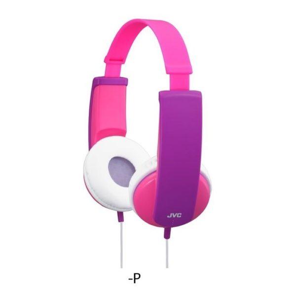 JVC Kids Wired Headphone Pink HAKD5P