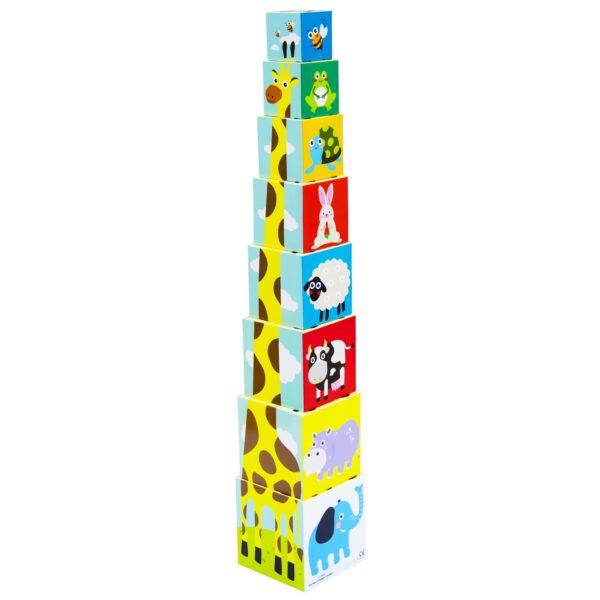 Little Hero 3028 Nesting Cubes Toy 8pcs Set