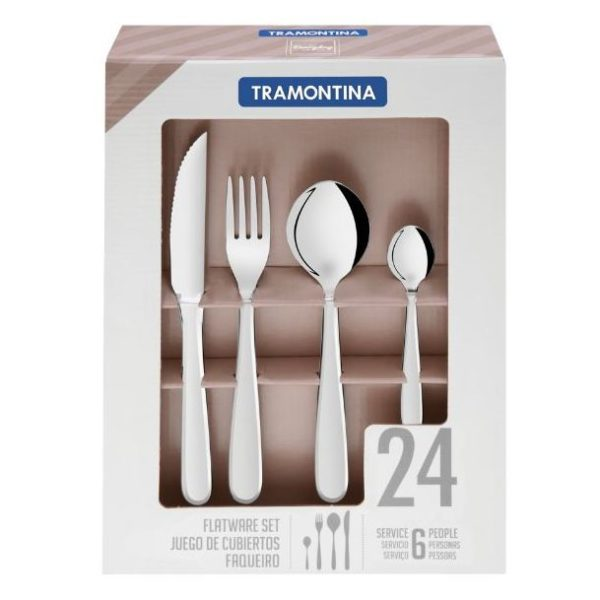 Tramontina Cutlery 24pc Set 66903004