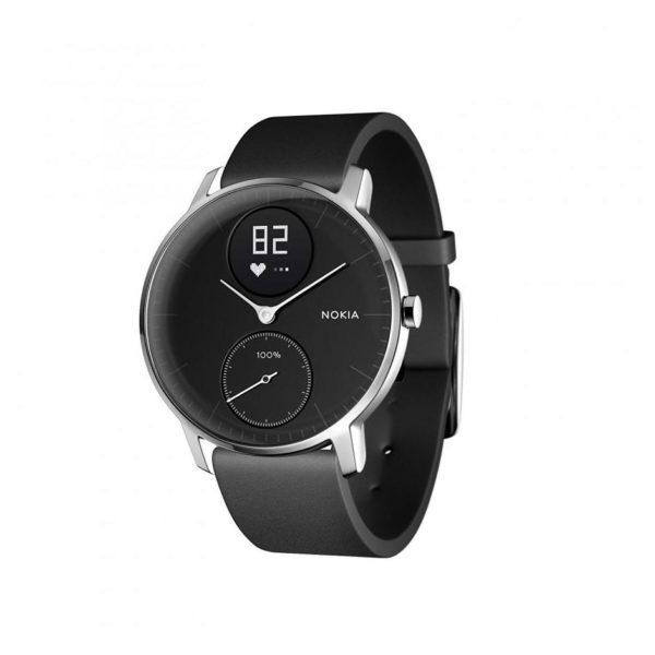 Nokia Steel HR Heart Rate & Activity Smart Watch Black - HWA0315