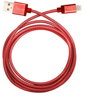 Goui GLC8PINRD Lightning cable to USB- Red