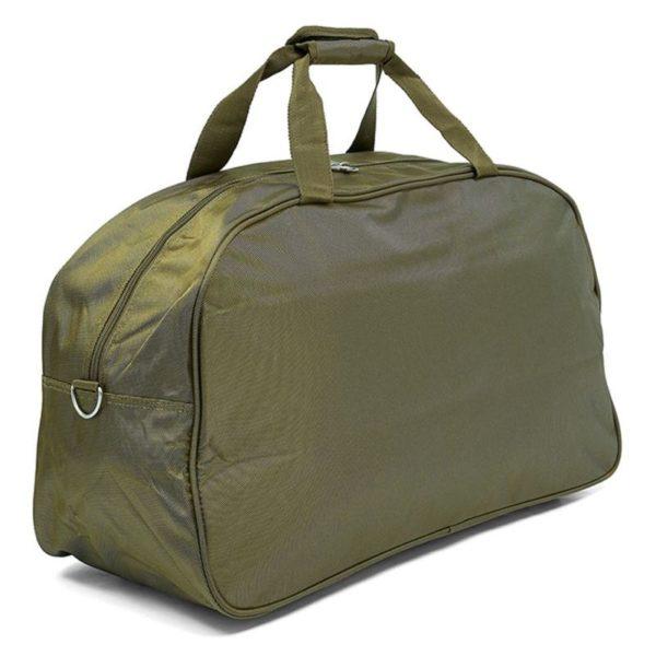 Senator 7085D20GRN Delux Duffel Bag Olive Green 20inch