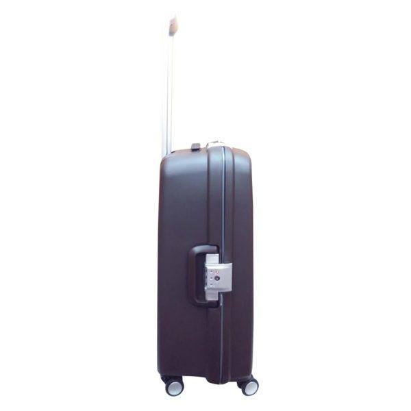 Highflyer Rock Trolley Luggage Bag Grey 3pc Set - THROCK3PC
