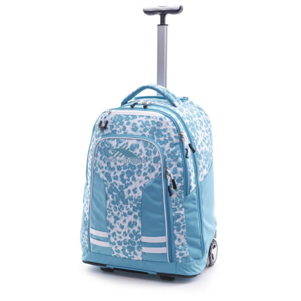 High Sierra 66ICY004 Blaise Trolley Backpack Trpicleoprd/Tropictel/White