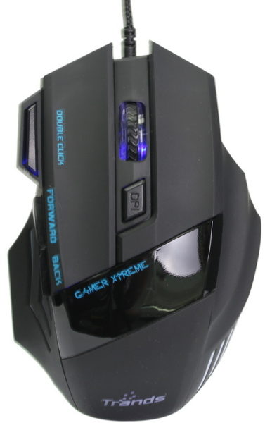 Trands TRMU6843 Gaming Wired Mouse With 6000DPI