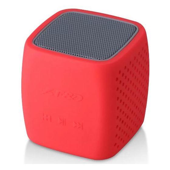 F&D Portable Bluetooth Speaker Black/Red W4