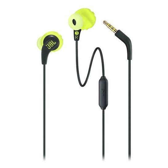 594aaeecfb2 Buy JBL Endurance Run Sweatproof Wired In Ear Headset Lime Green/Black  ENDURRUNBNL – Price, Specifications & Features | Sharaf DG