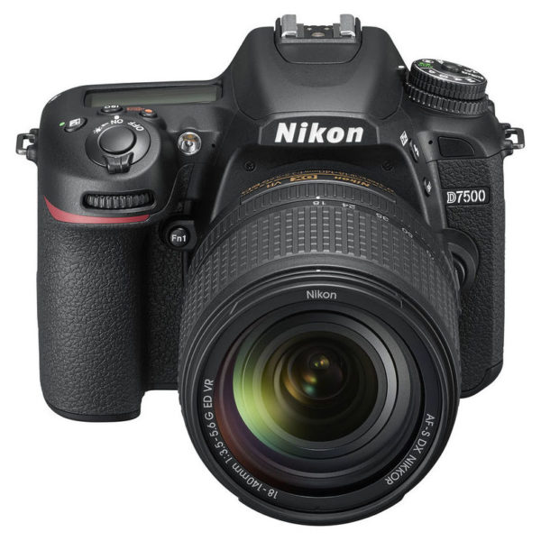Nikon D7500 DSLR Camera Black With AF-S DX Nikkor 18-140mm VR Lens