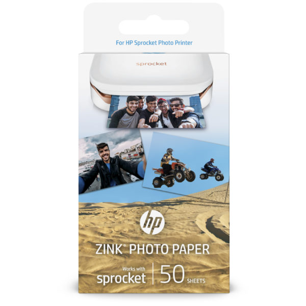 HP Zink Photo Paper 50Sheets