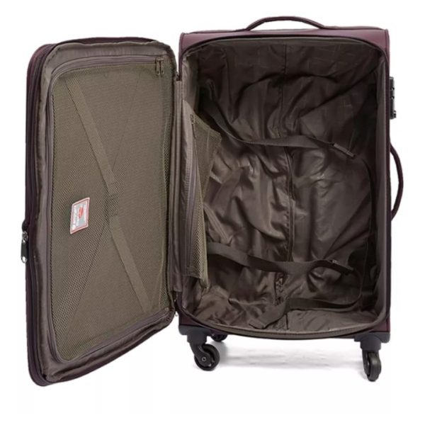 Eminent Soft Trolley Luggage Bag Purple 28inch - V610128PPL