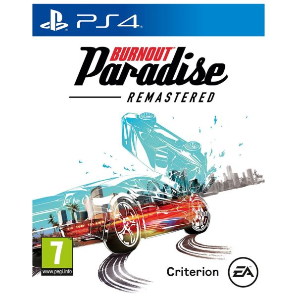 PS4 Burnout Paradise Remastered Game