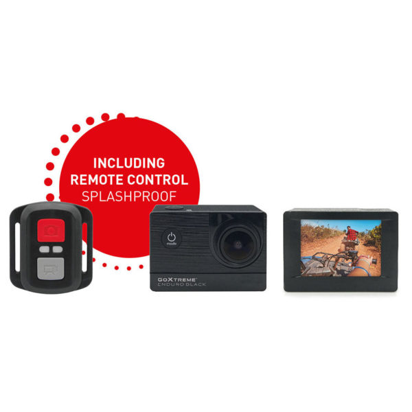 goxtreme enduro black 4k action camera price. Black Bedroom Furniture Sets. Home Design Ideas