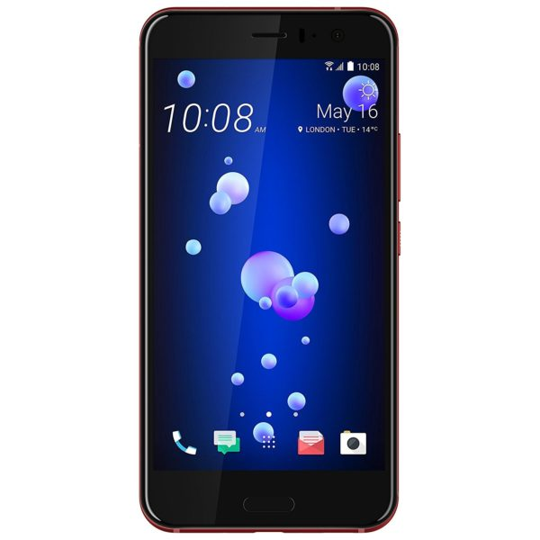 HTC U11 4G Dual Sim Smartphone 128GB Solar Red