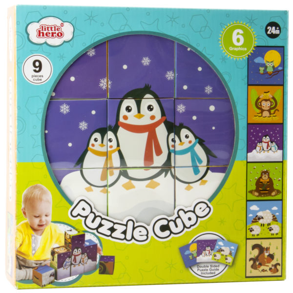 Little Hero 3030 Puzzle Cube Toy