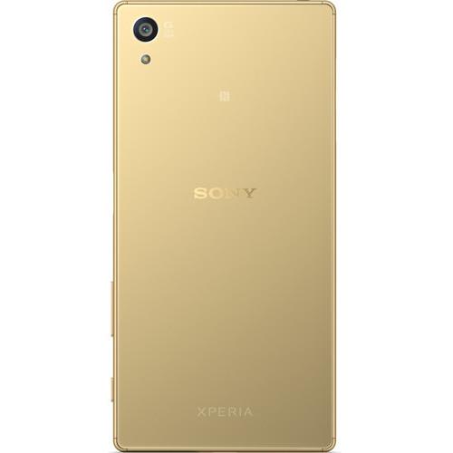 Sony Xperia Z5 4G Dual Sim Smartphone 32GB Gold + Phone Sling Grip