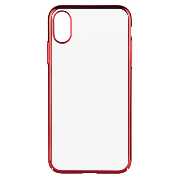 buy online 10343 31d37 Benks Electroplating Cover Case Red For iPhone X – 600554