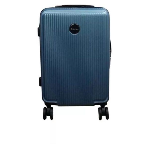 Highflyer Matrix Cabin ABS Trolley Luggage Bag 20 Inch Blue/Pink - THMATRIX20